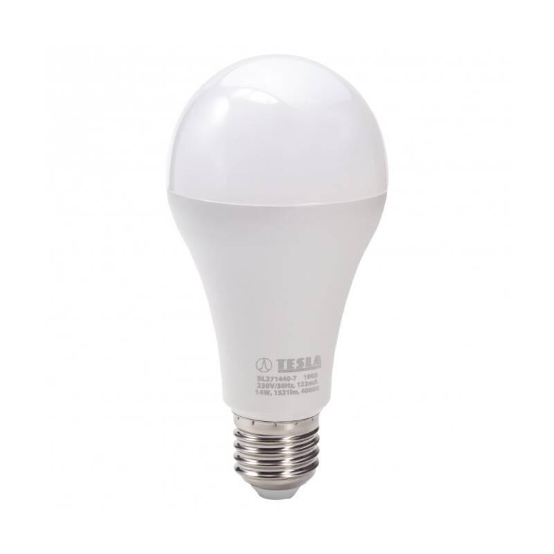 LED žiarovka Tesla klasik, 14W, E27, neutrální bílá (BL271440-7)