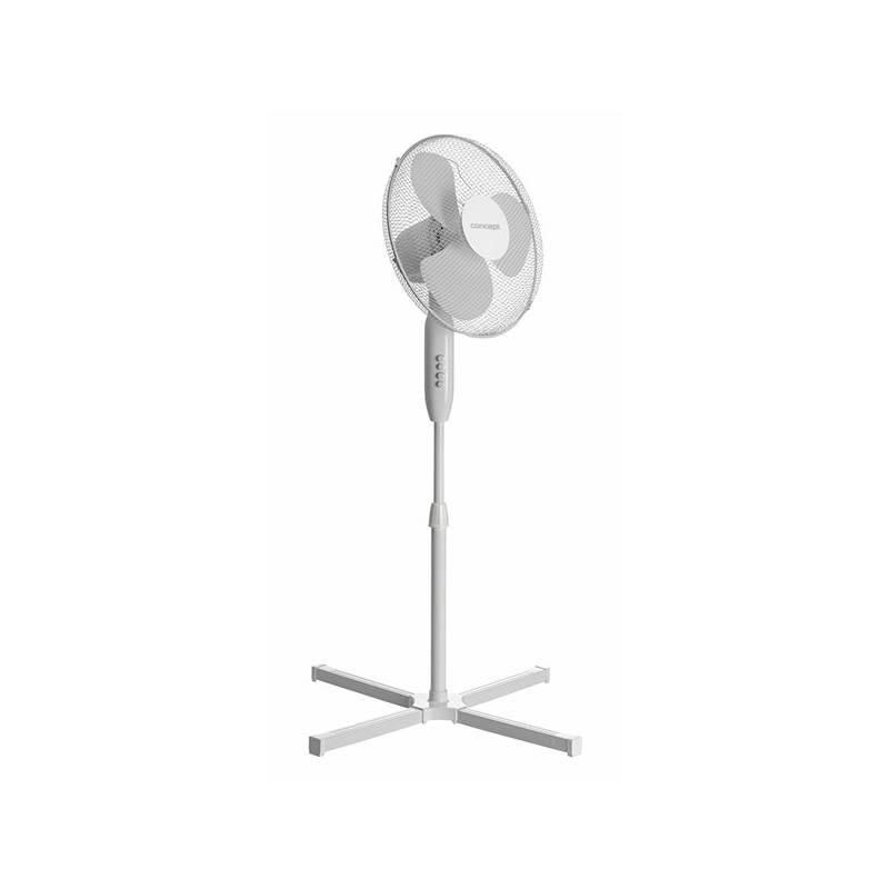 Ventilátor stojanový Concept VS5023 biely
