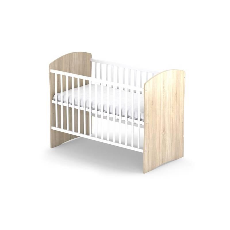 Postieľka detská drevená Baby Sky PANDA 107 dub
