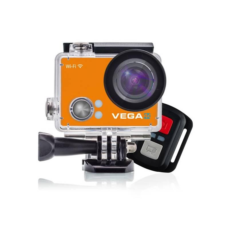 Outdoorová kamera Niceboy VEGA 4K - Limited edition 2017 oranžová + Doprava zadarmo