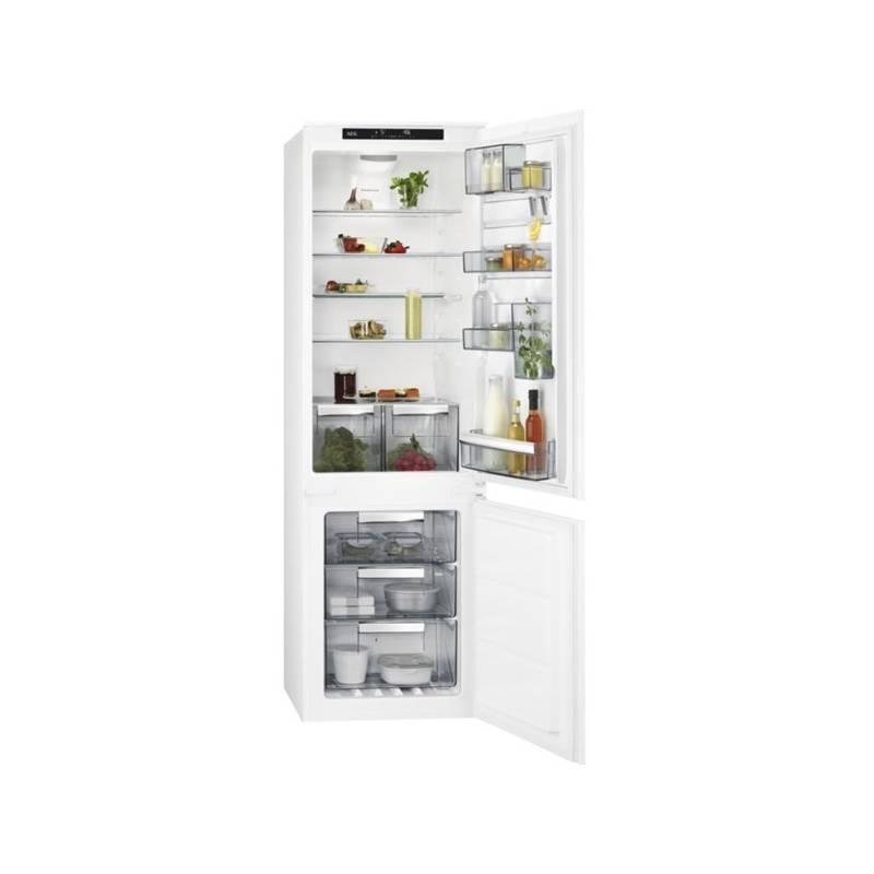 Kombinácia chladničky s mrazničkou AEG Mastery SCE81824TS biela + Doprava zadarmo