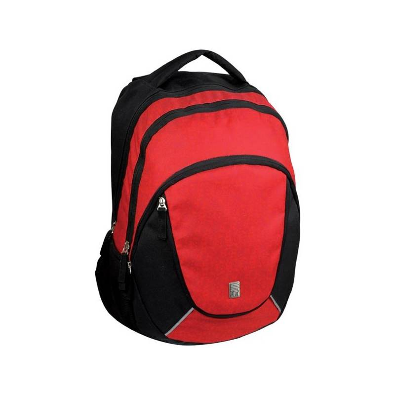 808b2563cc2 Batoh školní Sun Ce studentský potisk SCI-FI černé červené