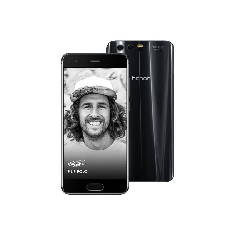Mobilný telefón Honor 9 Dual SIM 64 GB (51091TBH) čierny Software F-Secure SAFE 6 měsíců pro 3 zařízení (zdarma) + Doprava zadarmo