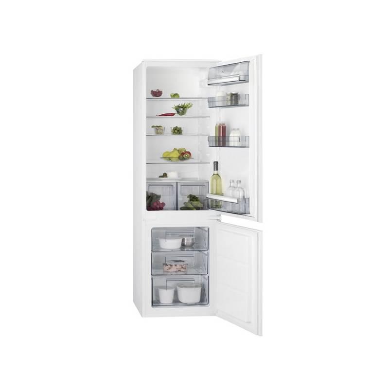 Kombinácia chladničky s mrazničkou AEG Mastery SCB51811LS + Doprava zadarmo