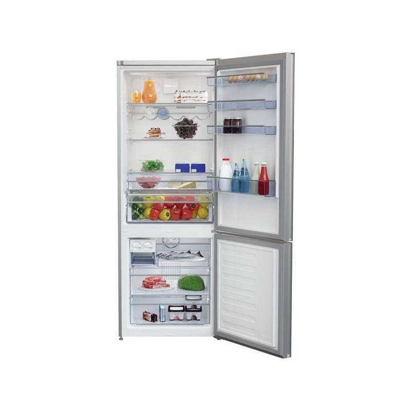 Kombinácia chladničky s mrazničkou Beko CNE 520 EE0ZGB čierna + Doprava zadarmo