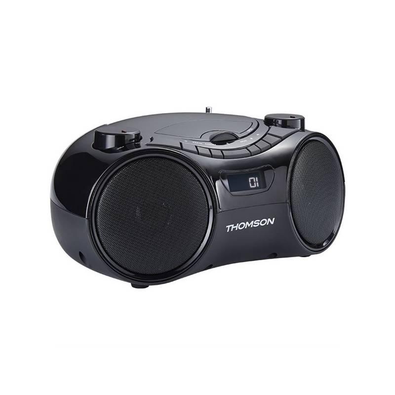 Radiopřijímač s CD Thomson RCD210UBT černý