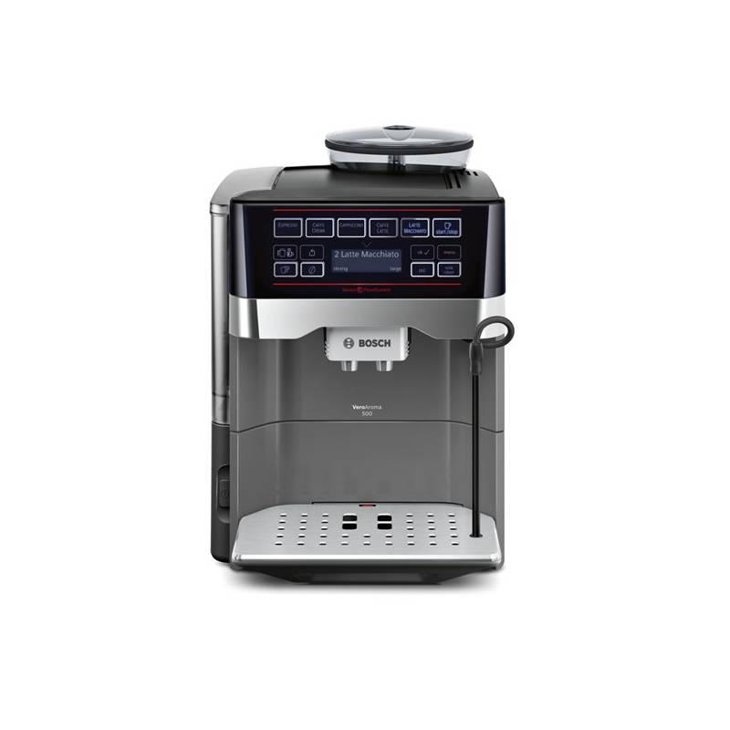 Espresso Bosch TES60523RW Titanium + Doprava zadarmo