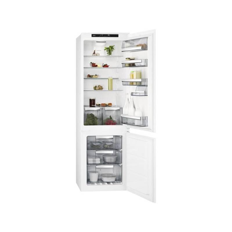 Kombinácia chladničky s mrazničkou AEG Mastery SCE81826TS + Doprava zadarmo