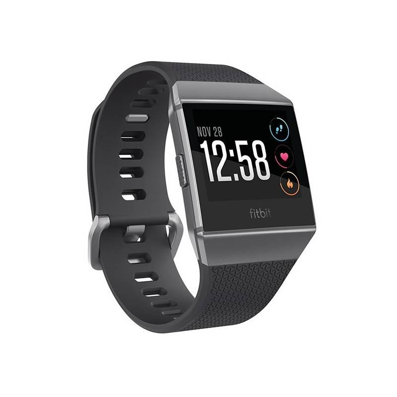 Chytré hodinky Fitbit Ionic - Charcoal/Smoke Gray (FB503GYBK-EU) + Doprava zadarmo