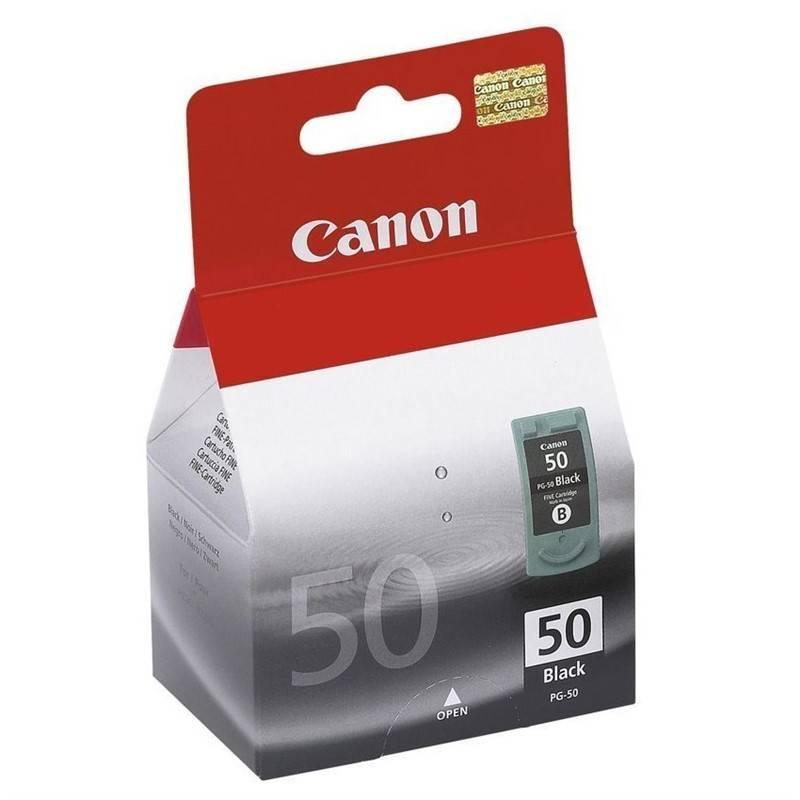 Cartridge Canon PG50, 750 stran (0616B001) čierna