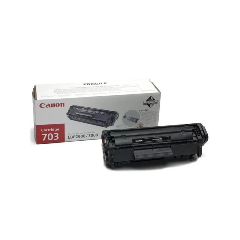 Toner Canon CRG-703, 2500 stran - originální (7616A005) čierny