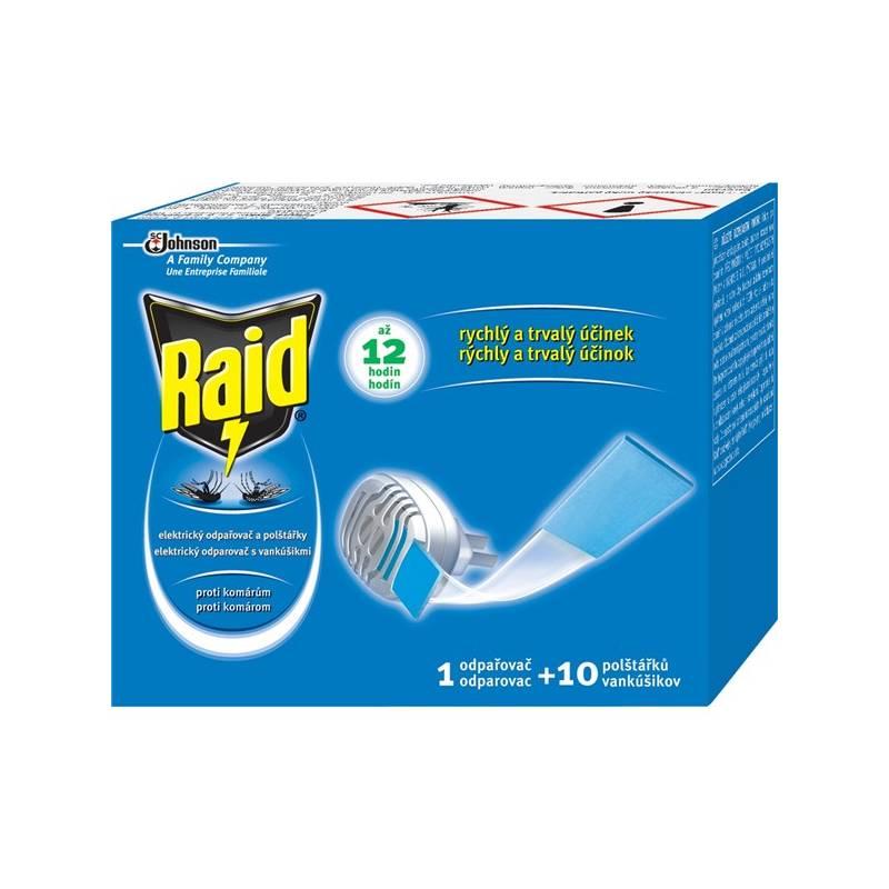 Odpuzovač hmyzu Raid elektrický suchý polštářek