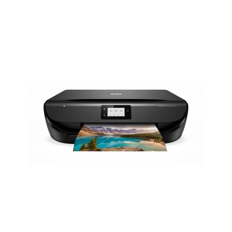 Tlačiareň multifunkčná HP DeskJet Ink Advantage 5075 (M2U86C#A82) čierna