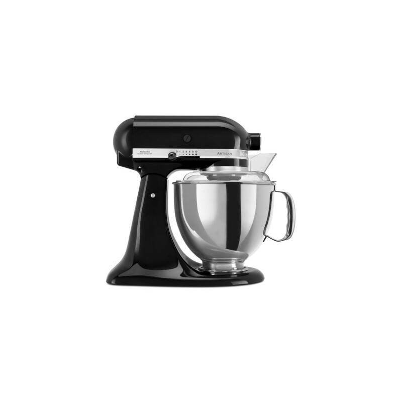 Kuchynský robot KitchenAid Artisan 5KSM175PSEOB čierny + Doprava zadarmo