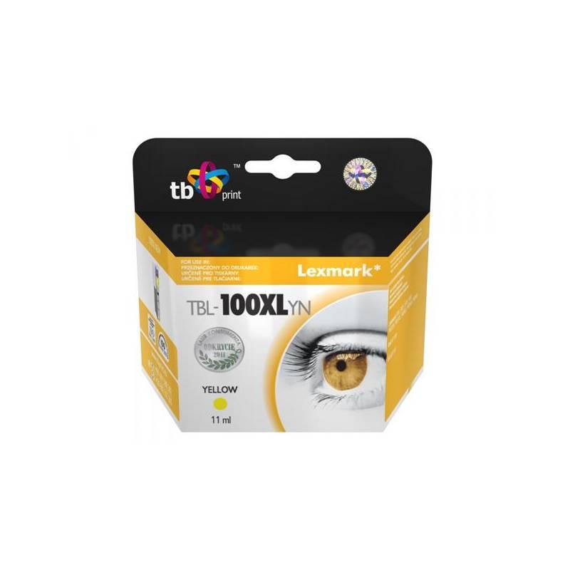 Cartridge, toner TB Lexmark 14N1071E - kompatibilní (TBL-100XLYN) žltá