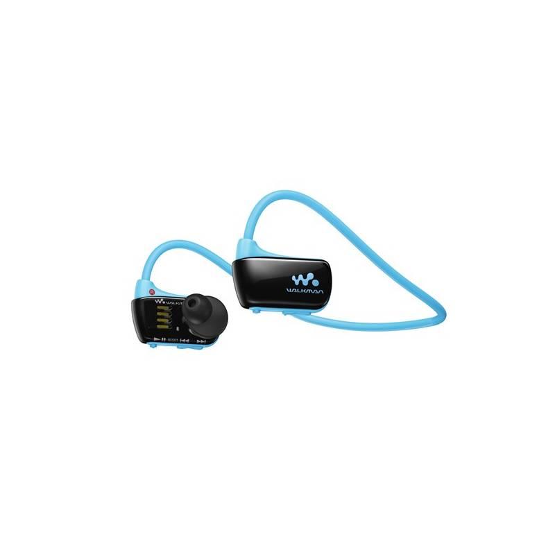 MP3 prehrávač Sony NWZ-W273SL modrý