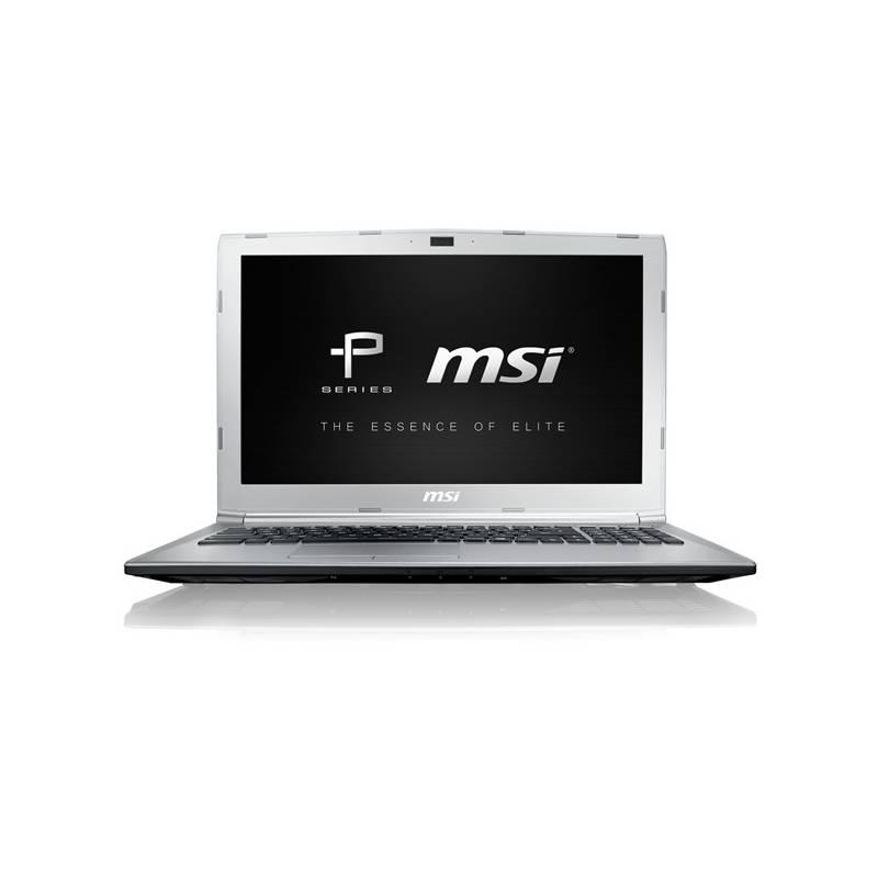 Notebook MSI PL62 7RC-055CZ (PL62 7RC-055CZ) strieborný + Doprava zadarmo
