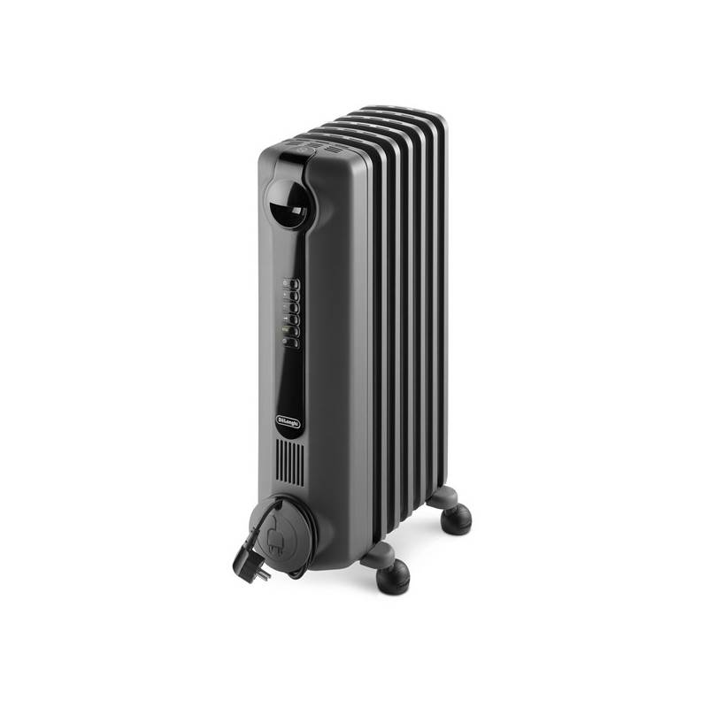Olejový radiátor DeLonghi TRRS 0715 SE.G sivý