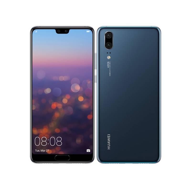 Mobilný telefón Huawei P20 Dual SIM (SP-P20DSLOM) modrý Software F-Secure SAFE, 3 zařízení / 6 měsíců (zdarma)Osobní váha Huawei AH100 (zdarma)Fitness náramek Huawei Color Band A2 - černé (zdarma) + Doprava zadarmo
