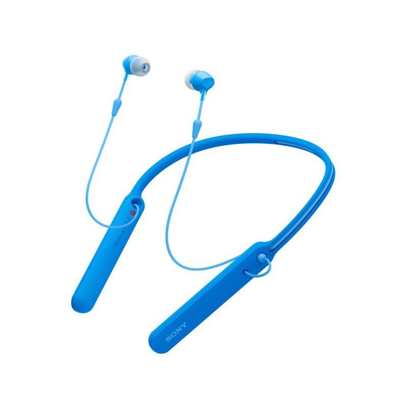 Slúchadlá Sony WI-C400 (WIC400L.CE7) modrá