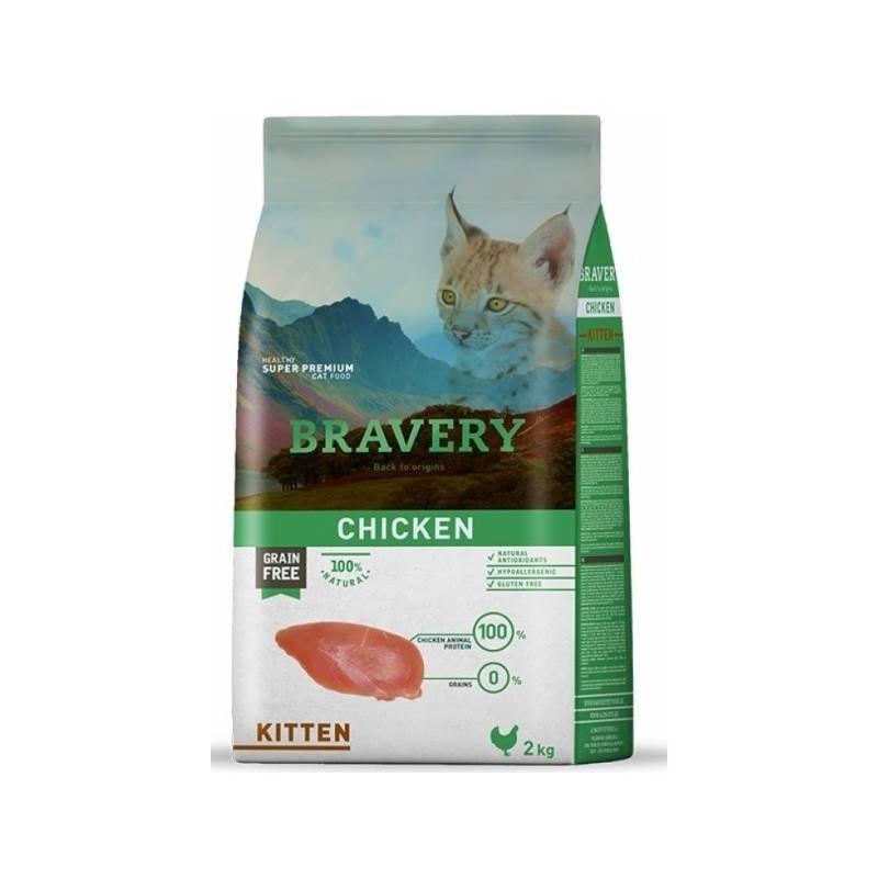 Granule Bravery cat KITTEN 2kg