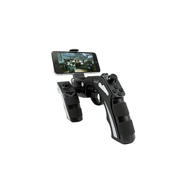Gamepad iPega Phantom ShoX Blaster Gun, iOS/Android, BT (PG-9057) černý
