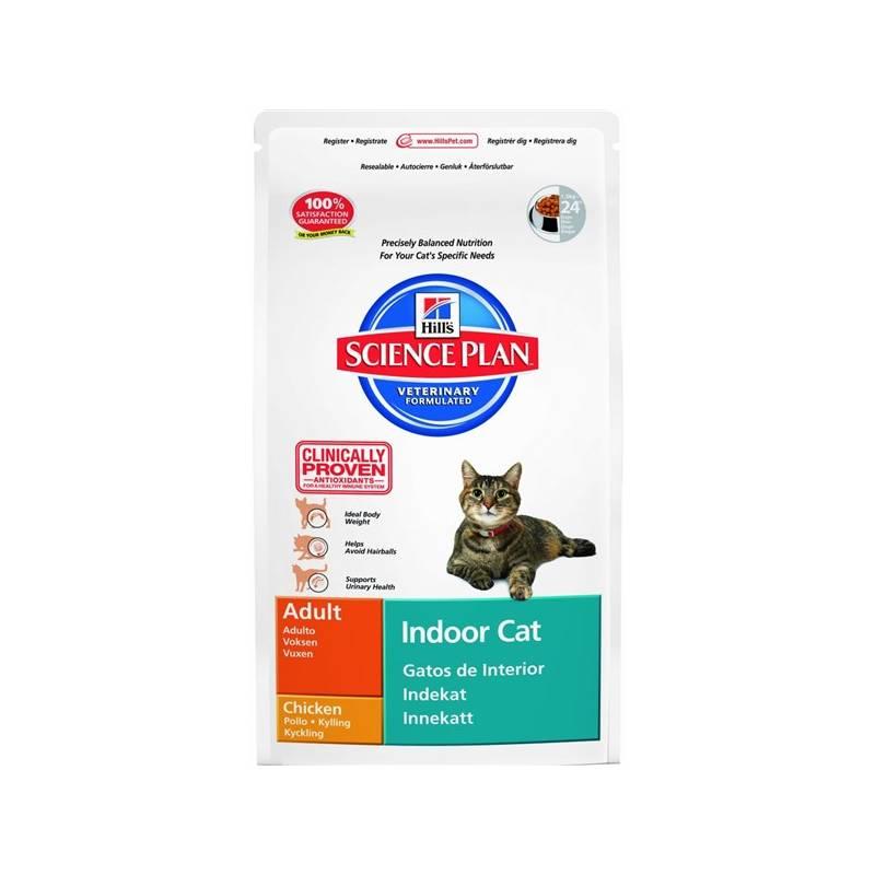 Granule Hill's Feline Adult Indoor Cat, 4 kg (pre mačky)