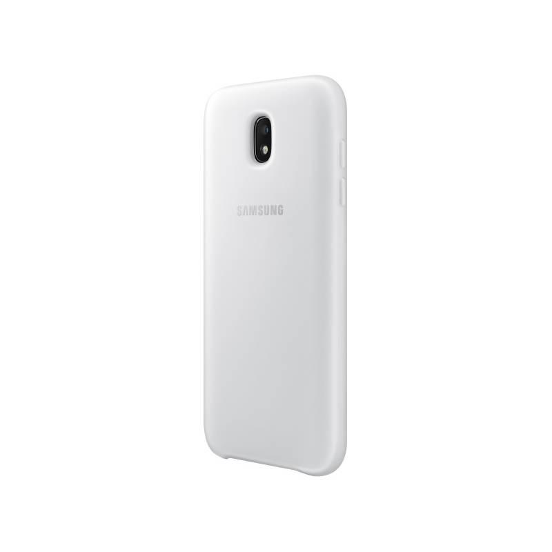 Kryt na mobil Samsung Dual Layer Cover pro J3 (2017) (EF-PJ330CWEGWW) biely
