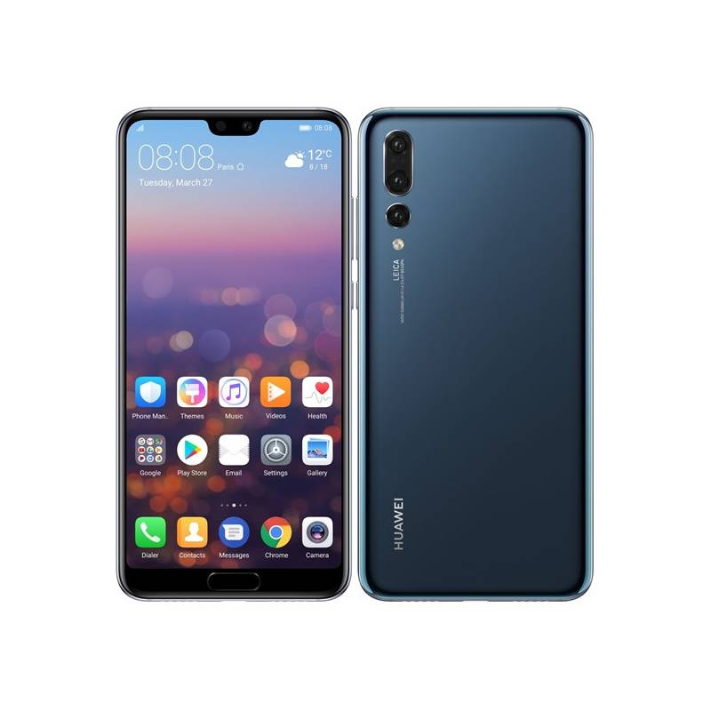 Mobilný telefón Huawei P20 Pro Dual SIM (SP-P20PDSLOM) modrý Software F-Secure SAFE, 3 zařízení / 6 měsíců (zdarma)Osobní váha Huawei AH100 (zdarma)Fitness náramek Huawei Band 2 Pro - černý (zdarma) + Doprava zadarmo
