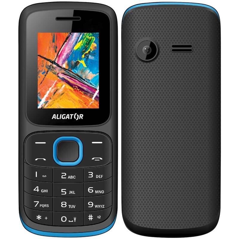 Mobilný telefón Aligator D210 Dual SIM (AD210BB) modrý