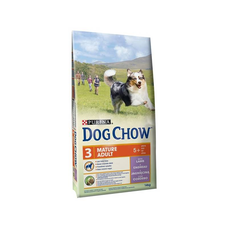 Granule Purina Dog Chow Mature Adult jehněčí 14 kg