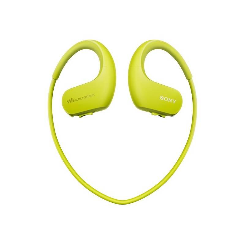 MP3 prehrávač Sony NW-WS413G zelený