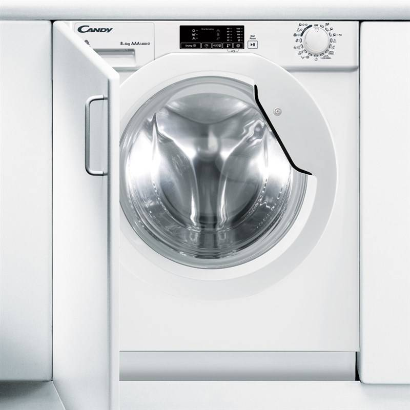 Pračka se sušičkou Candy CBWD 8514D-S bílá