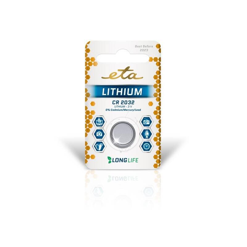 Baterie lithiová ETA PREMIUM CR2032, blistr 1ks (CR2032LITH1)