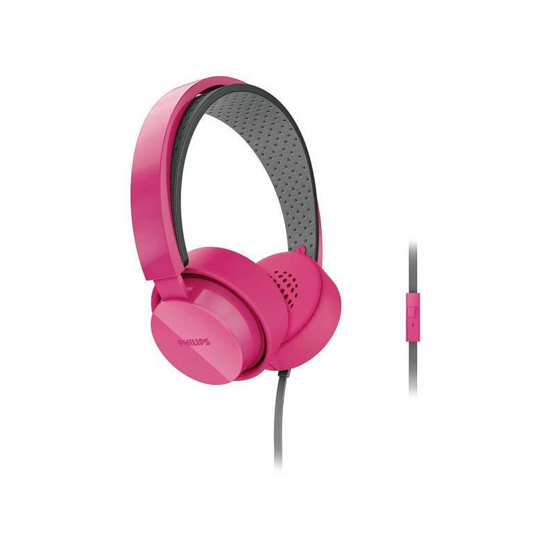 Słuchawki Philips CitiScape Shibuya SHL5205PK Różowa | EUKASA.pl