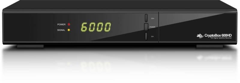bf3eccb86 Satelitný prijímač AB Cryptobox 600HD čierny   HEJ.sk