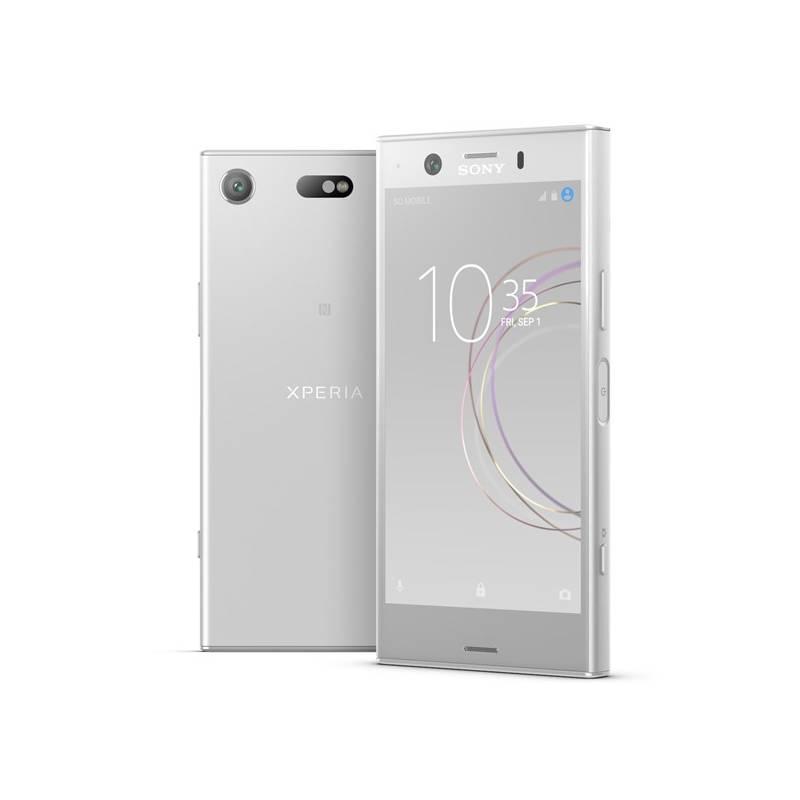 Mobilný telefón Sony Xperia XZ1 Compact (G8441) (1310-7088) strieborný Přenosný reproduktor Sony SRS-X11 (zdarma) + Doprava zadarmo