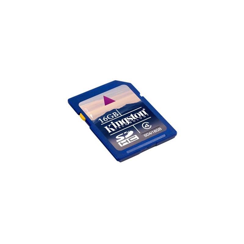 Paměťová karta Kingston SDHC 4GB Class4 (SD4/4GB)