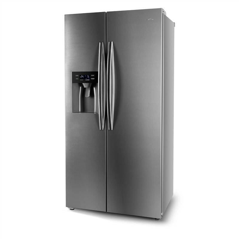 Americká chladnička ETA 137190010 nerez + Doprava zadarmo