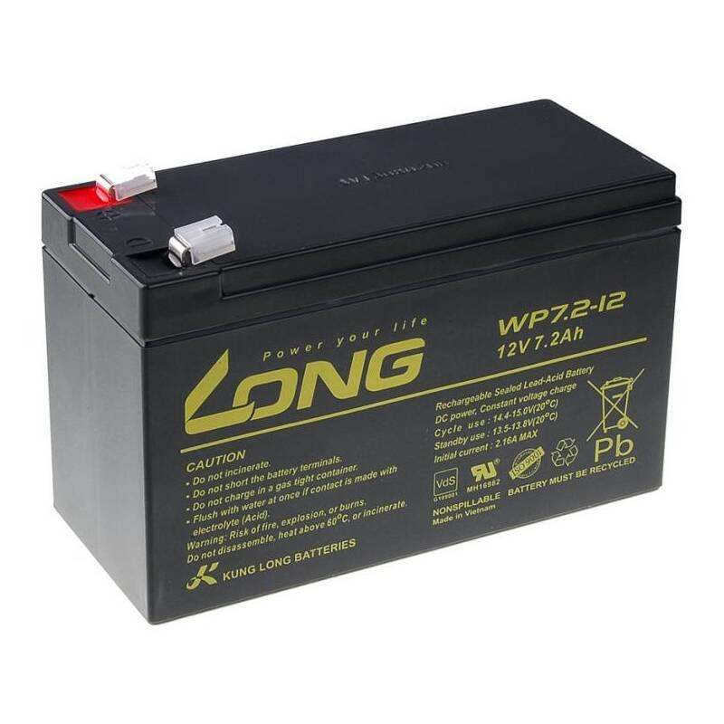Olovený akumulátor Avacom Long 12V 7,2Ah F2 (WP7.2-12 F2) (PBLO-12V007,2-F2A)