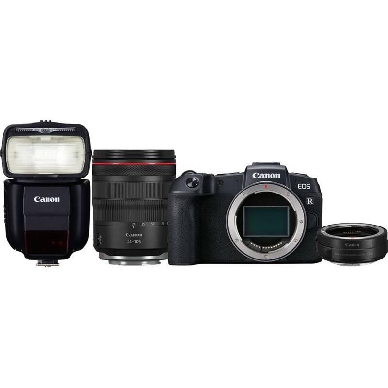 Set výrobkov Canon EOS RP + M 24-105 L IS USM + adapter + blesk 430EX III-RT + Doprava zadarmo