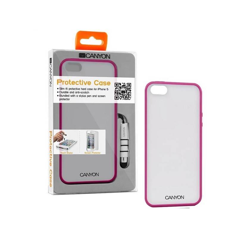 Púzdro na mobil Canyon CNA-I5C01P pro iPhone 5 (CNA-I5C01P) ružové ... 915e1028139