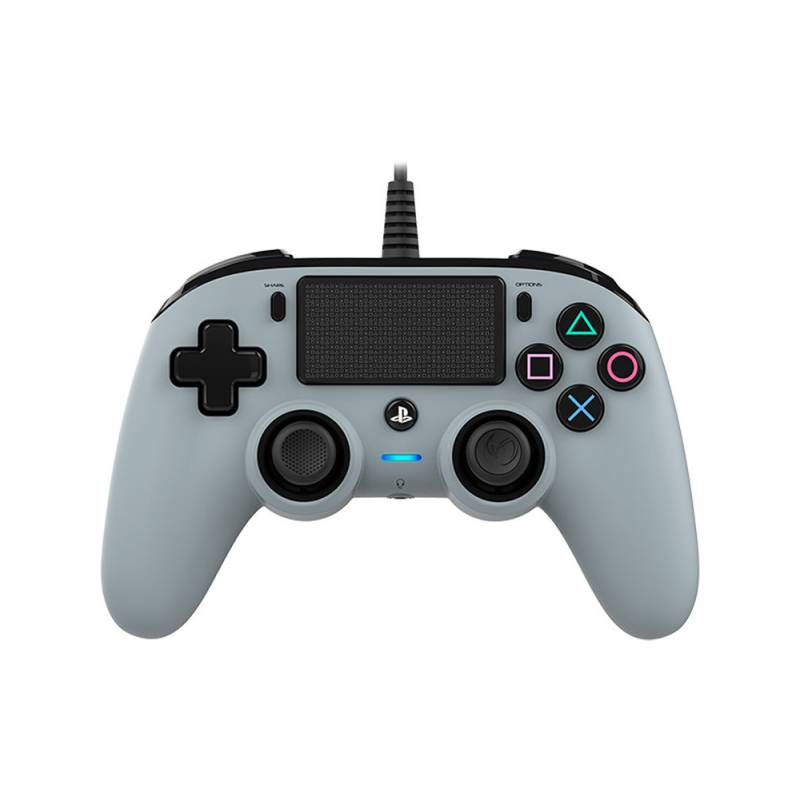 Gamepad Nacon Wired Compact Controller pro PS4 - camouflage šedý (ps4hwnaconwccgrey)