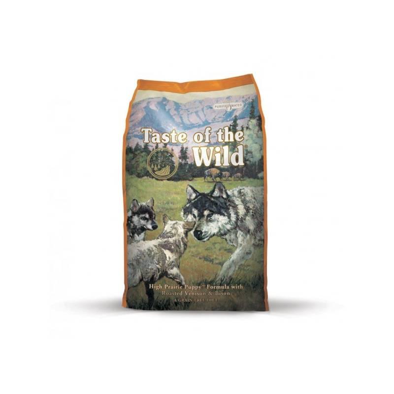 Granuly Taste of the Wild High Prairie Puppy 12,2 kg + Doprava zadarmo