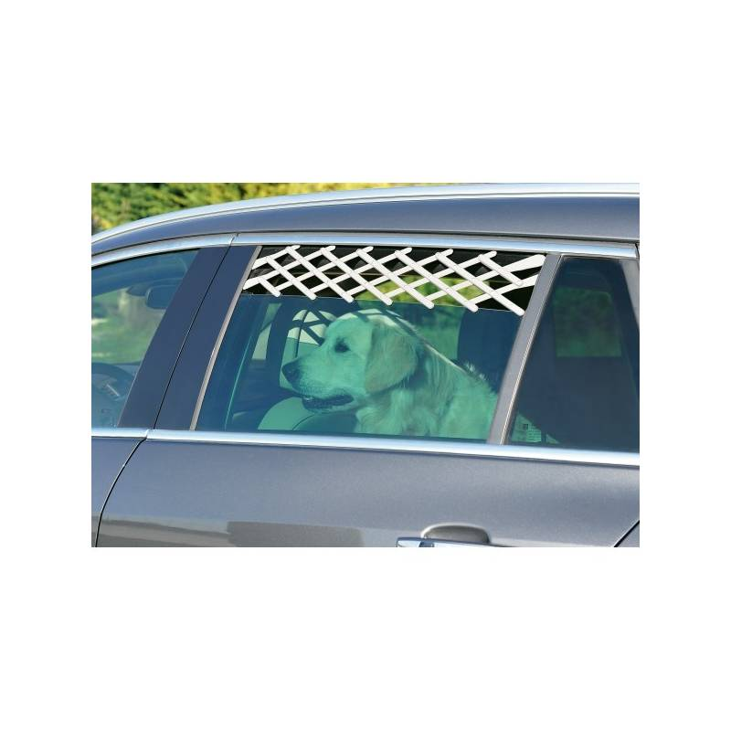Automreža do okna auta Trixie 24-70 cm