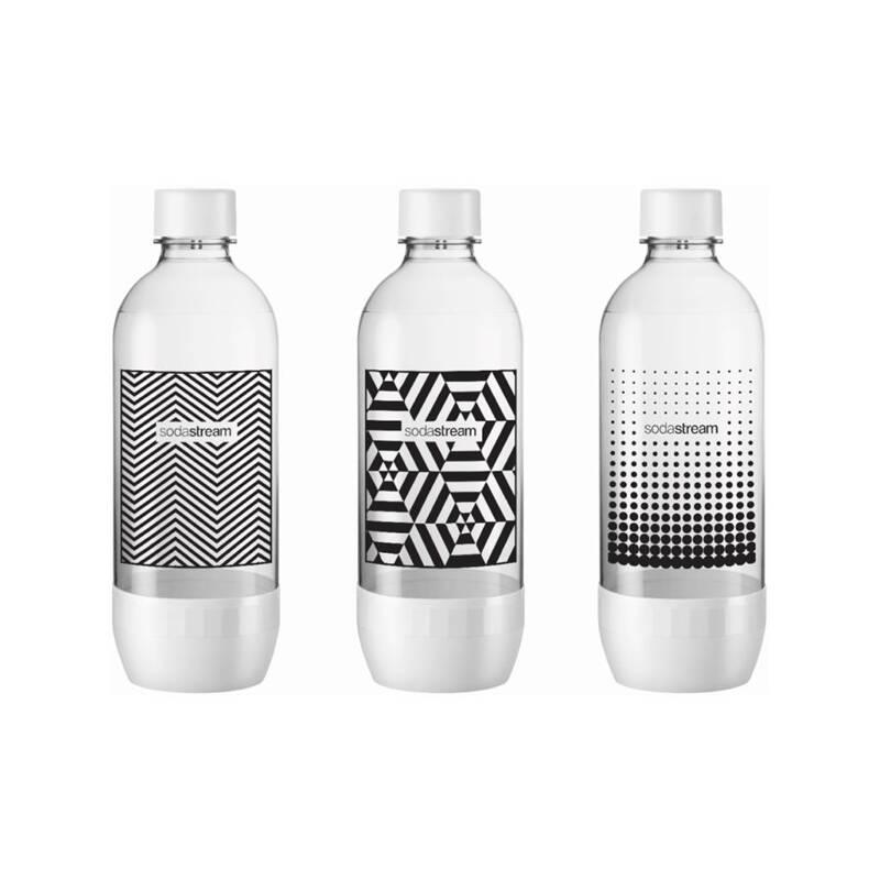Fľaša SodaStream 1l TriPack Black&White