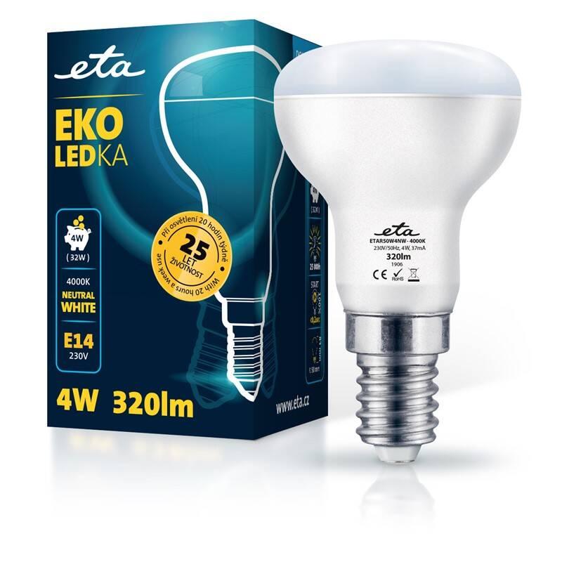 LED žiarovka ETA EKO LEDka reflektor 4W, E14, neutrálna biela (R50W4NW)