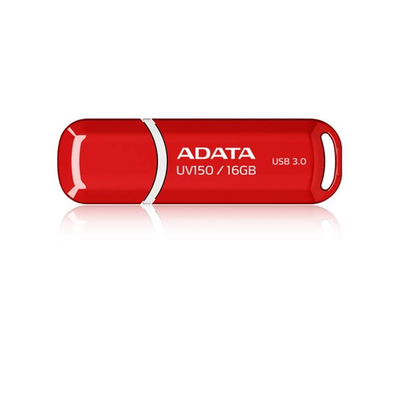 USB flash disk ADATA UV150 16GB (AUV150-16G-RRD) červený