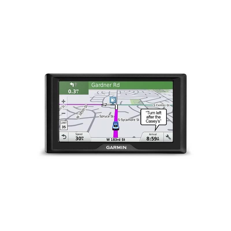 Navigačný systém GPS Garmin Drive 60 Lifetime Europe45 čierna