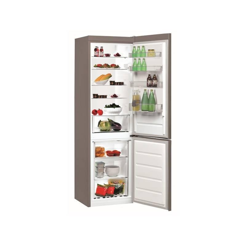 Kombinácia chladničky s mrazničkou Indesit LI9 S1Q X nerez + Doprava zadarmo